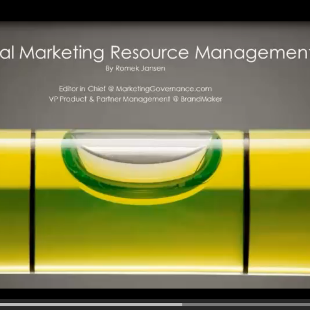 Global Marketing Resource Management Webinar