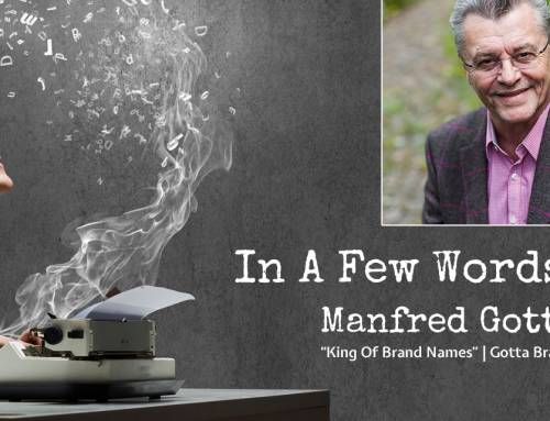 Interview With Brand2Global Keynote, Manfred Gotta