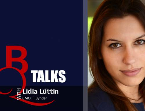 BQ TALKS With Lidia Lüttin, CMO at Bynder