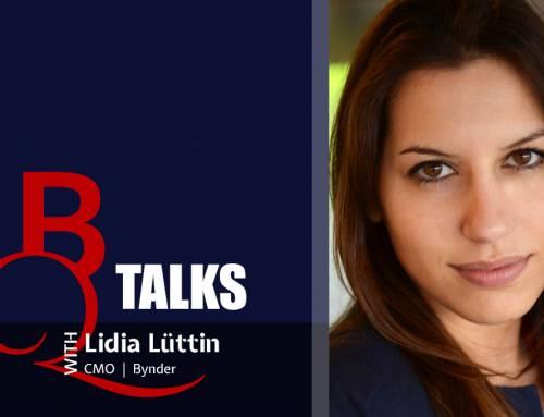 BQ TALKS With Lidia Lüttin, CMO at Bynder
