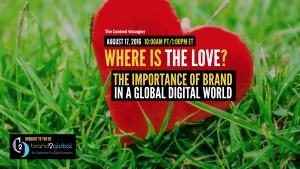 Where it the love Brand2Global Webinar header
