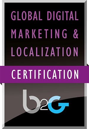 Global Digital Marketing and Localization Certification